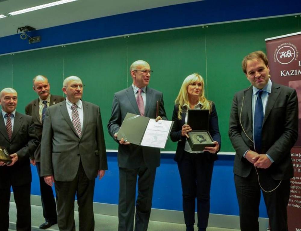 Wręczono Nagrodę im. Prof. Bartla